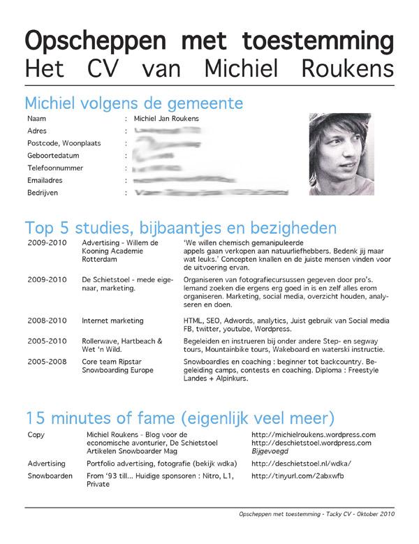 Killer CV - Tacky