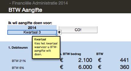 aangifte omzetbelasting-Mijn Johan-BTW aangifte-BTW-KwartaalKeuze